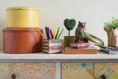 Owl Box, Decorative Storage ★ Creative Co-Op Home
