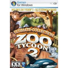 Zoo Tycoon 2: Ultimate Collection (I have the base game but it is cheaper to buy the others as a collection)