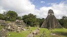 Mayan ruins in Tikal, Guatemala, Central America Tikal, Oh The Places You'll Go, Places To Travel, Places To Visit, Atitlan Guatemala, Mayan Cities, Destinations, Mayan Ruins, Ancient Ruins