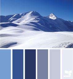 { Scenic Blues } image via: @ab_alessia_ | featured in the Seasonal Atlas | Design Seeds X Archroma