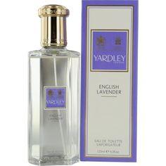 Yardley English Lavender by Yardley of London for Women Eau De Toilette Spray, 4.2 Ounce Yardley #fragrance #Yardley #Lavendar