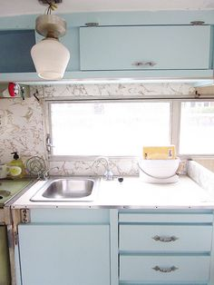 Adventures in Cleaning and Restoring a Vintage Trailer