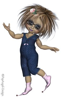 Angie's Free Poser Tubes: Tubes Kiki Glasses