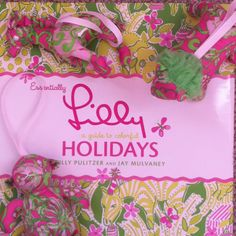 All ready for my Lilly holiday! #LillyHoliday
