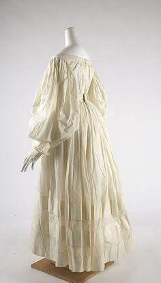 Date: ca. 1838 Culture: British Medium: cottonDress