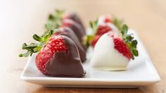 This go-to Valentine's Day (or anyday!) treat is so easy, you'll never gift store-bought chocolate-covered strawberries again. We just can't promise you won't eat them before you give them away.