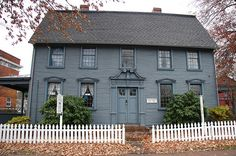 The Belden House on Main Street in Wethersfield, Connecticut