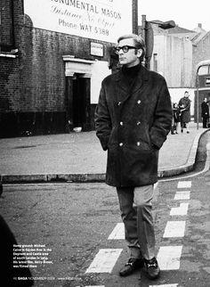 Michael Caine — South London, 1969.