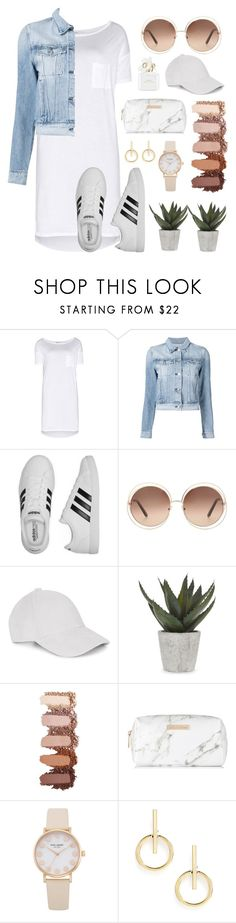 """UNDER $100"" by jjoj ❤ liked on Polyvore featuring T By Alexander Wang, 3x1, adidas, Chloé, Abigail Ahern, Spectrum, Sole Society and Marc Jacobs"