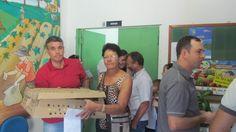 Prefeitura distribui 3 mil pintos a produtores da Palma e outros 7 distritos :: Palma8SM.com