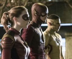 The Three Speedsters: Jesse, Barry, and Wally