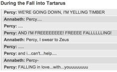 Am I the only one who sang along with Percy?