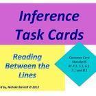 Need a fun way to have your students practice their inferring skills?  Here are 12 short stories and 20 pictures on task cards for students to prac...