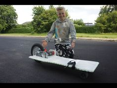 How To Make A Electric Longboard Easy. DIY World's fastest Drill Longboard! Today I'm going to recycle my old baby bike, and build world fastest longboard wi...