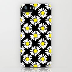 Daisies iPhone & iPod Case by Ornaart - $35.00