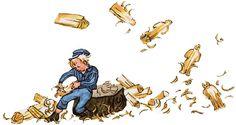 New Yorker Cartoons, Childhood Memories, Illustration Art, Film, Drawings, Fictional Characters, Tattoo, People, Astrid Lindgren