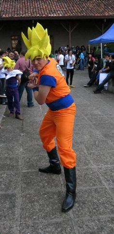 Nick Sandoval: Goku from Dragon Ball Z in Otaku House Cosplay Idol 2012