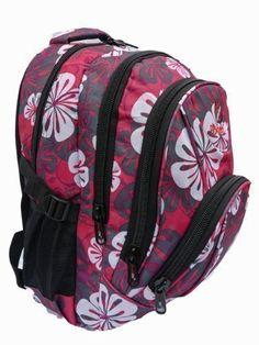 Miss Lulu Womens Butterfly Oilcloth Travel Weekend Away Bag Light Pink L1106B PK