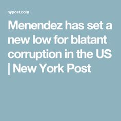 The bribery trial of senior New Jersey Democratic Sen. Bob Menendez has it all. Menendez is facing charges that he sold his US Senate office to a Palm Beach,. Political Corruption, Us Senate, New York Post, This Is Us, News, Day Planners