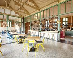 Project Paleis 't Loo at Apeldoorn #roboscontractfurniture #restaurant #interior #inspiration #palace