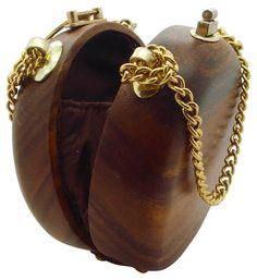 Vintage Purses, Vintage Handbags, Wooden Purse, Ethnic Bag, O Bag, Cute Bags, Luxury Bags, Purses And Handbags, Fashion Bags