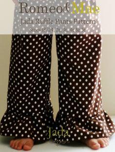 ruffle-leg pants!