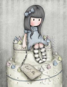 Cake Art By Suzanne : 1000+ images about Gorjuss on Pinterest Natal, Charts ...