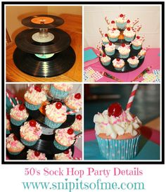 pintrist 50's theme decorations | Snip-Its Of Me: Sock Hop Party Theme Part Two