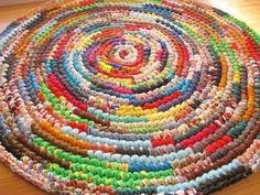 New Ready To Ship Swirls of Color 32 Crochet Round by mrsginther, $129.00