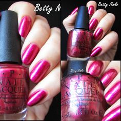 pink opi http://betty-nails.blogspot.pt/2013/11/opi-san-francisco-collection-swatches.html
