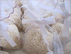 bustine di tulle per il riso