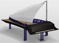 Klavins Pianos - Grand 408