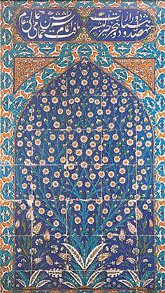 Iznik tiles, Topkapi Palace
