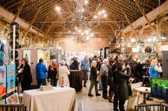 We're counting down the days until the next time artists fill The Barn! Don't miss Folk Art 2017!