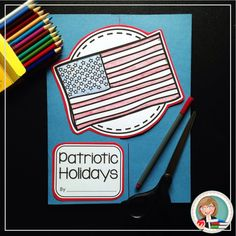 Teach students about the special #holidays we celebrate as Americans with this Patriotic Holidays #Lapbook! Includes summer holidays such as #MemorialDay #FlagDay #IndependenceDay and MORE!