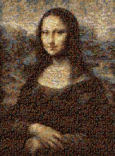 Photomosaic Mona Lisa