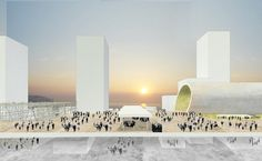West Kowloon Cultural District. OMA (2010)