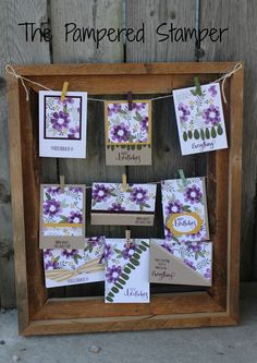 2016 Created by Jackie Bultje using the bonus stamp in the April paper pumpkin. One Sheet Wonder DSP colors used Mossy meadow, hello honey and blackberry bliss