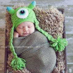 The Cutest Newborn Photos Ever ♥ The Least Scary Monster Ever ♥ If only all monsters were this adorable. © Provided by Mom.me