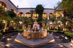 Hotel de la Soledad, Morelia, Lobby
