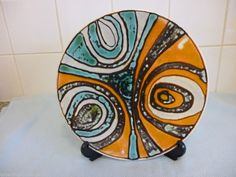Poole Pottery Charger 11 inches
