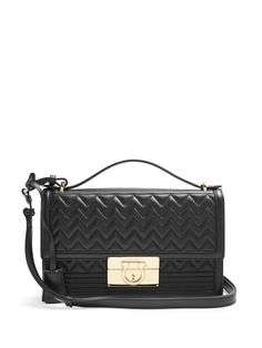 Aileen quilted-leather shoulder bag | Salvatore Ferragamo | MATCHESFASHION.COM US
