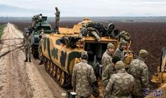 مقتل جنديين تركيين آخرين في معارك عفرين: قتل جنديان تركيان آخران في المعارك الدائرة بمنطقة عفرين بأقصى الشمال الغربي السوري، ما يرفع عدد…