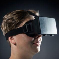 Die virtuelle Welt war noch nie so nah! Das Virtual Reality Headset als ein modernes Geschenk für alle Gadget-Liebhaber! Filme und Spiele mit WoW-Effekt. Einfach Headset ans Smartphone anschließen, Film oder Spiel starten und genießen.