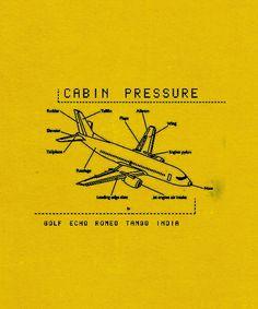 Cabin Pressure = amazing comedy