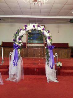 Wedding arch Spring Wedding Colors, Lilac Wedding, Diy Wedding, Wedding Flowers, Wedding Arches, Trendy Wedding, Wedding Dress, Flower Archway, Arch Decoration