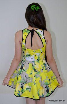 Vestido Infantil Miss Cake Moda Infanto Juvenil 510244