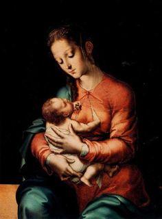 Virgen de la leche - Luis de Morales
