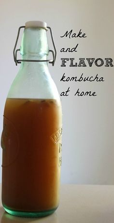 Your DIY Guide For Making Kombucha at Home