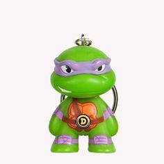 Kidrobot Keychains TMNT Teenage Mutant Ninja Turtles All 10 Characters